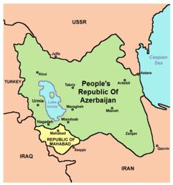 Mahabad Kürt Cumhuriyeti