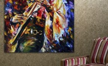 Abstract Jazz Band Paintings Painting For Home