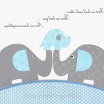 15 The Best Elephant Wall Art For Nursery