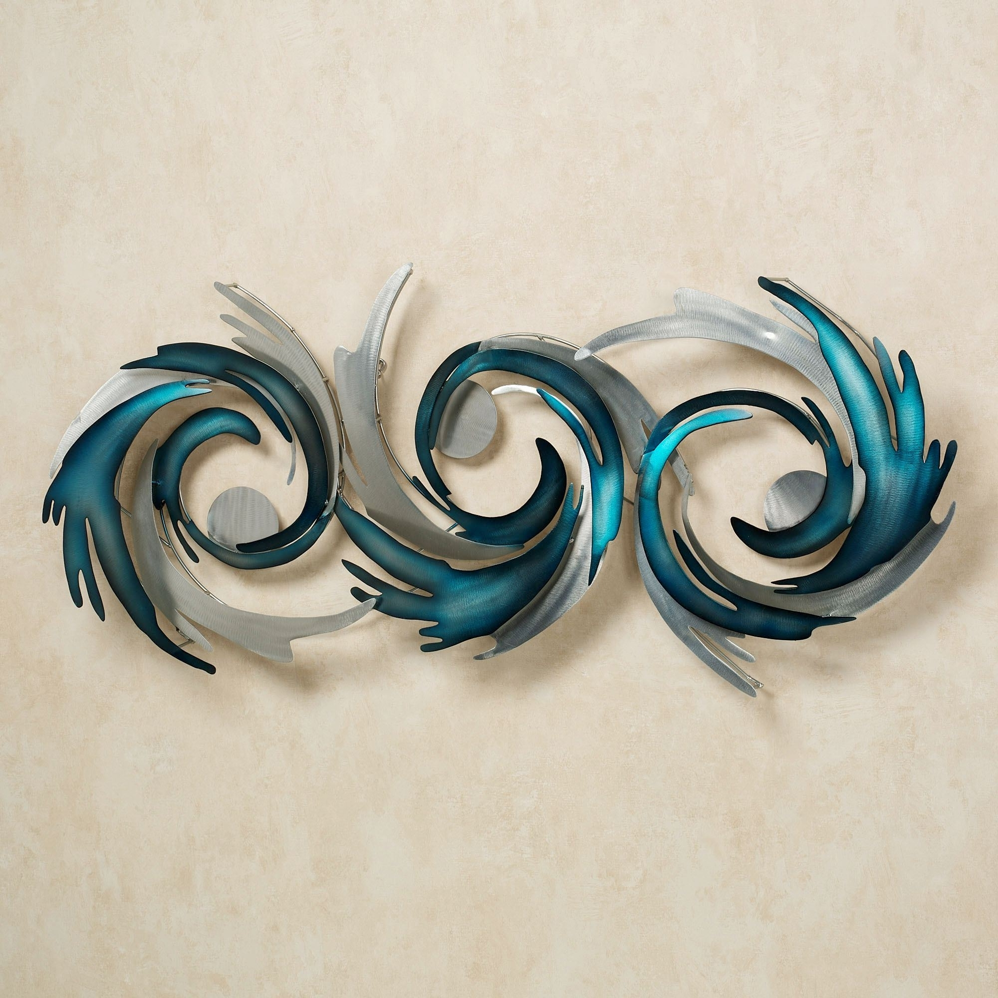 15 Best Collection Of Teal Metal Wall Art