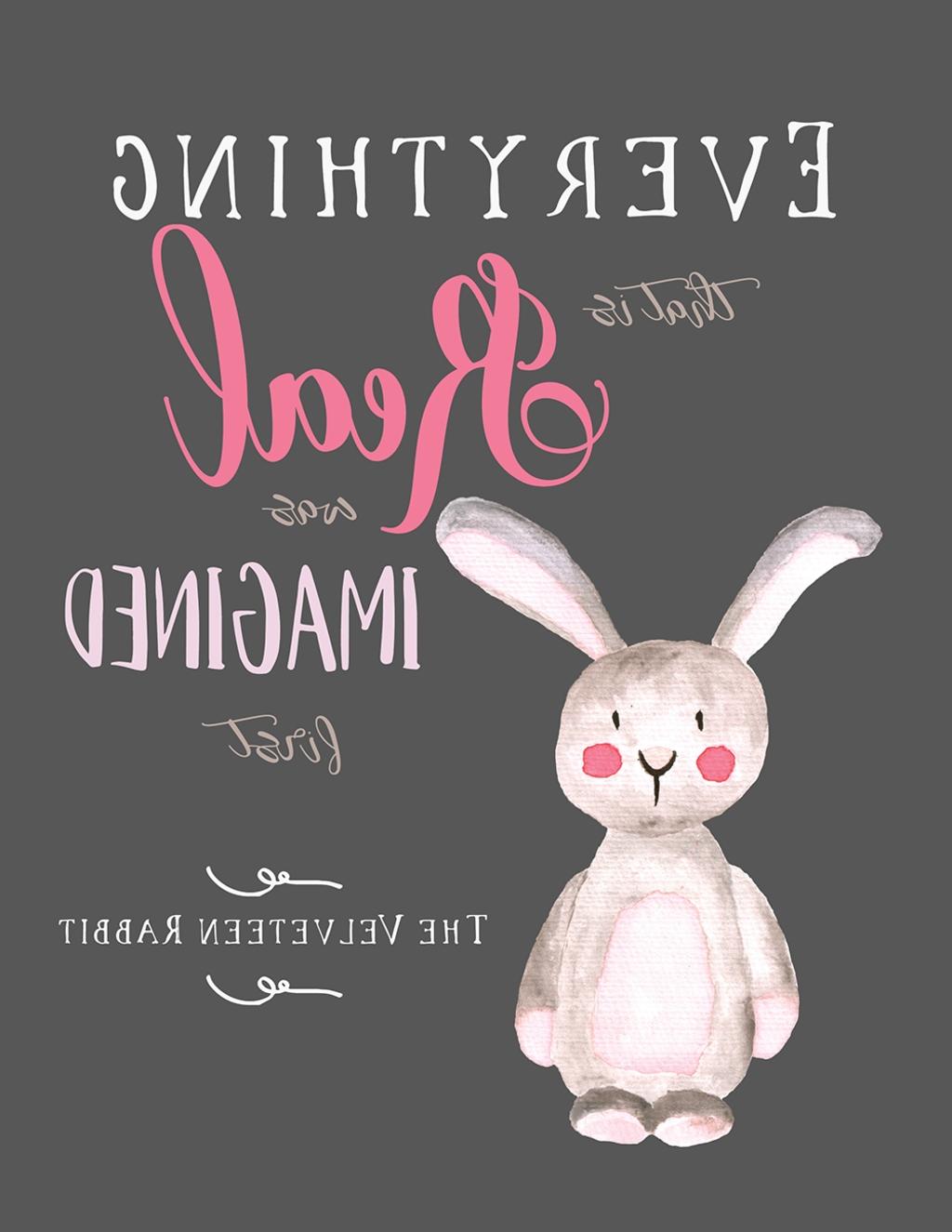 15 The Best Velveteen Rabbit Wall Art