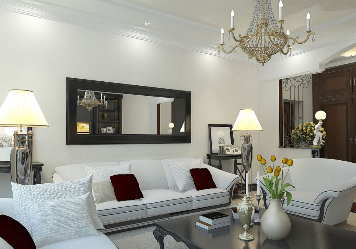 Learn about details that pull a style together: 20 Best Collection of Wall Mirrors For Living Room