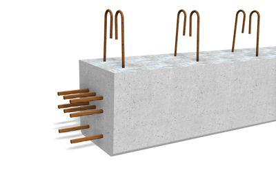 poutre psr 20x20 beton precontraint