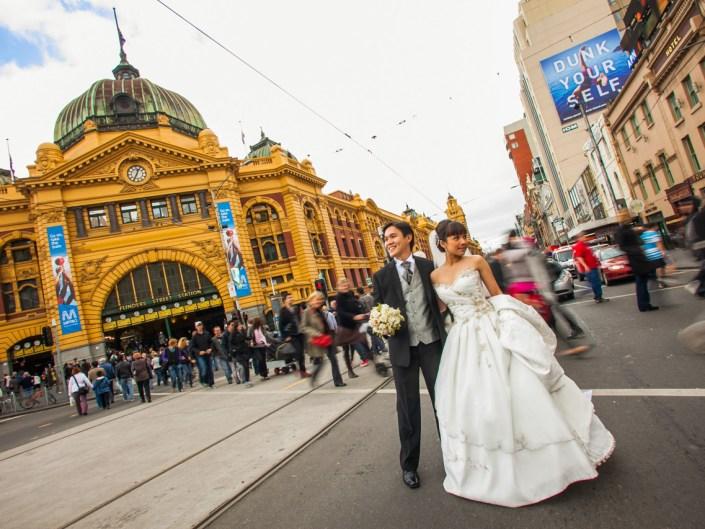 Matthew & Ivy in Melbourne