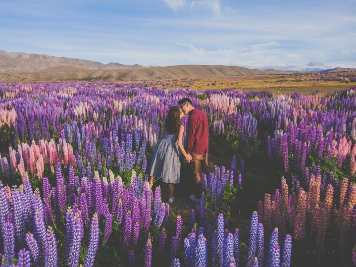 Teck Chiat & Chun Hui on a Road Trip in New Zealand