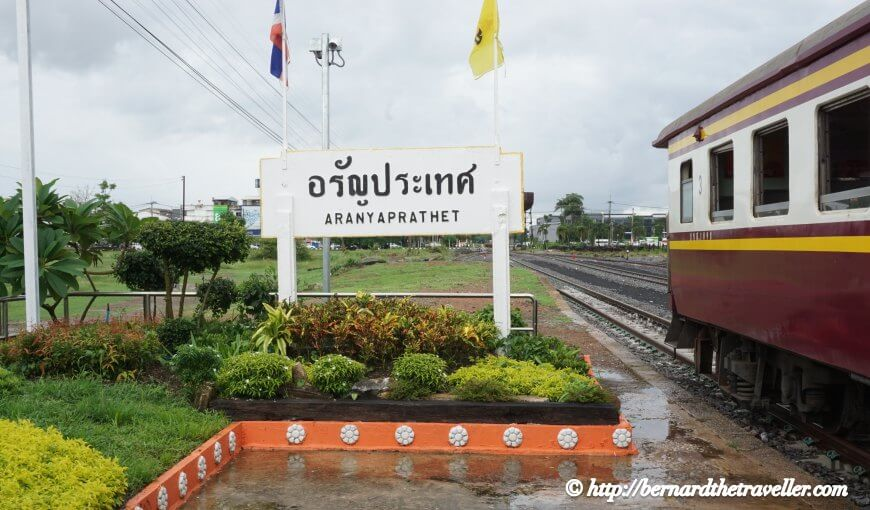 Bangkok Train Station, Aranyaprathet Railway Station, Thailand
