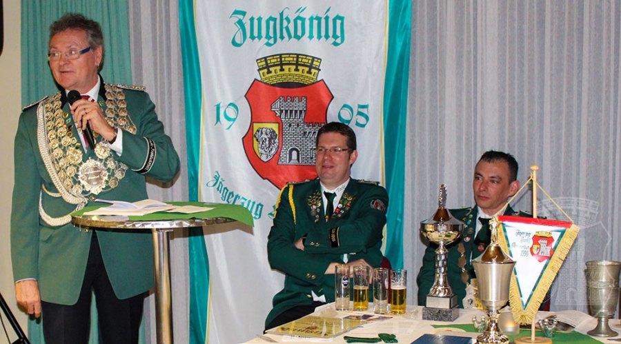 Gratulations-Rede von S.M. Detlef I.Bley