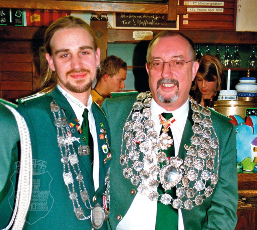 Eine Familie, zwei Könige: Jan II. und Manfred I. Wosnitza.