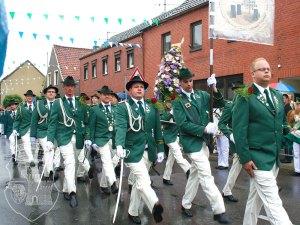 Parade der Orkener Boschte 2010 mit Bernardus-Beteiligung.
