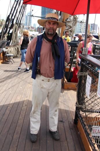 Crew Man - Festival of Sail