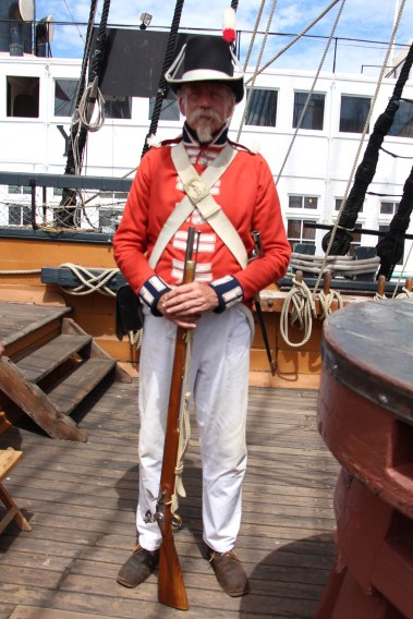 Officer on Deck - Festival of Sail