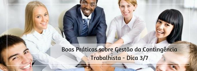 Boas Práticas sobre Gestão da Contingência Trabalhista – Tema 3/7 Segregação clara de funções e responsabilidades