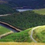 Abergwesyn Vally overlooking Lyn Brianne Reservoir