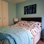 double bedroom in family annex cerdyn villa bnb