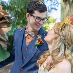 magical may wonderland wedding unity ceremony