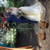 Bride and Groom - Magical May Wonderland