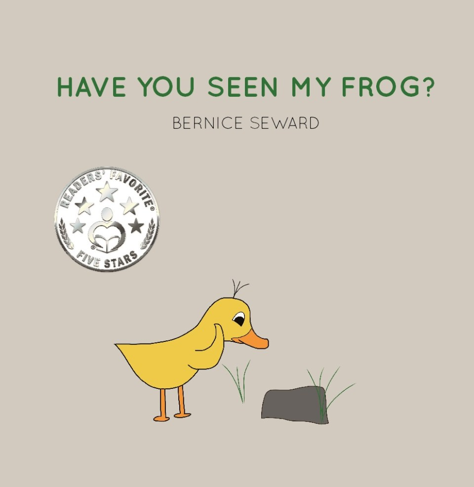 have you seen my frog 8 by 8 front cover