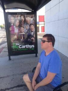 Comedian Jimmy Dunn contemplates being in the cast of CBS's The McCarthy's.