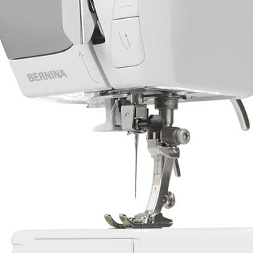 Bright LED sewing light for greater sewing comfort