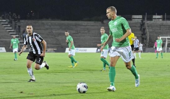 Въпреки получената травма в събота Венцислав Христов влезе на терена в последните 15 минути и се опита да помогне на отбора да стигне поне до изравнителен гол при 2:1.