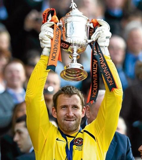 С Купата на Шотландия през 2010 г.
