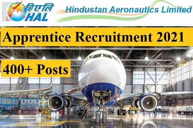 HAL ITI Trade Apprentice Recruitment 2021 Apply Online Form Last Date