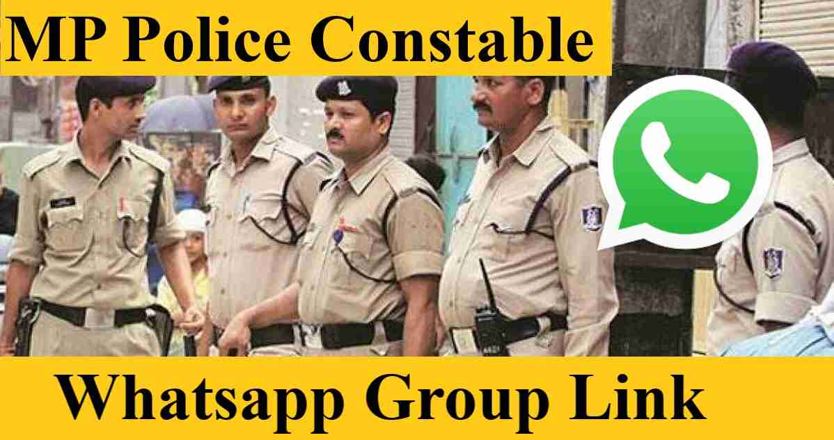 MP Police Constable Exam Bharti Whatsapp Group Invite Link Join 2021