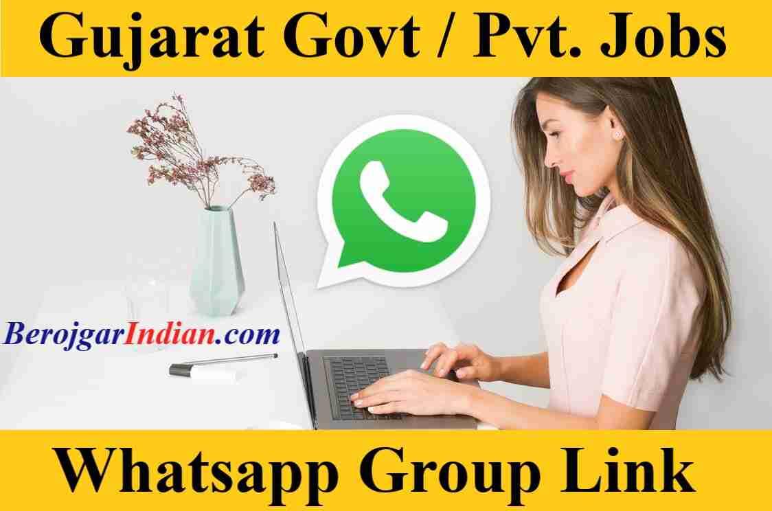 Gujarat Govt Private Jobs Police Bharti Job Updates Whatsapp Telegram Group Link 2021