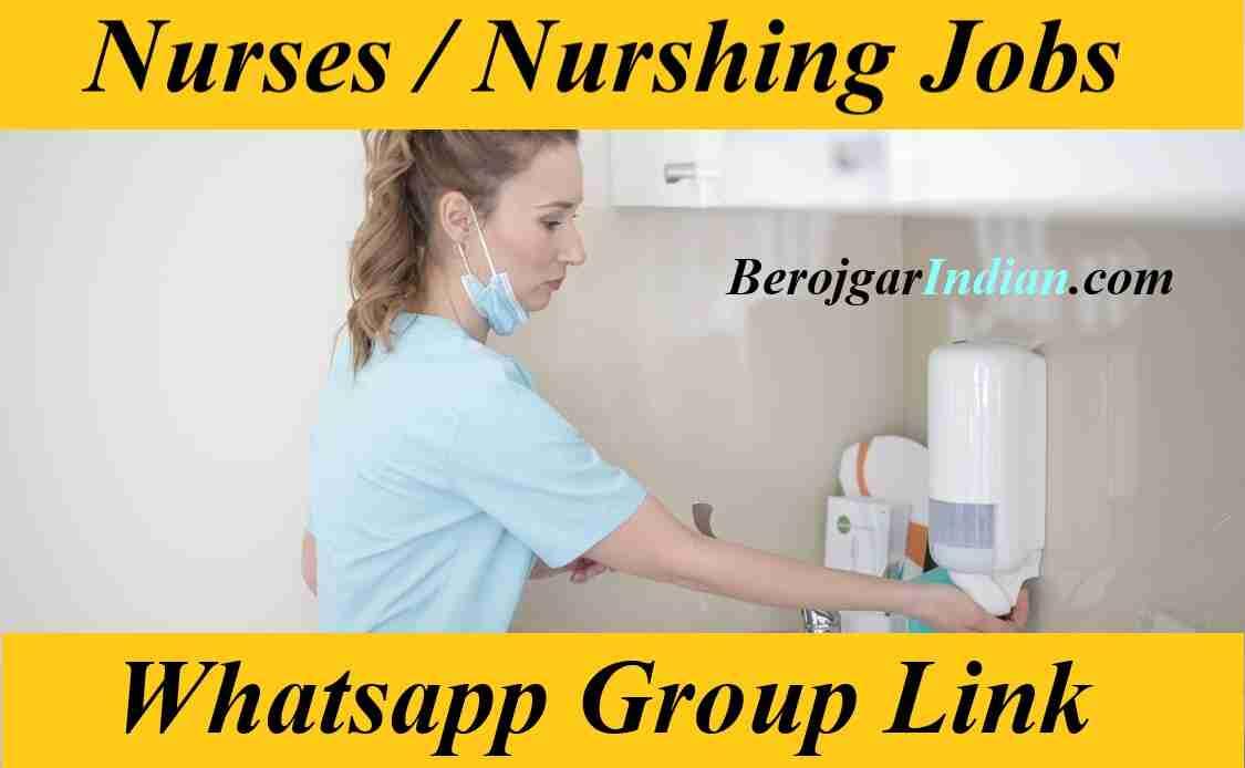 Indian Kenya Nigeria Nurshing BSC Nurses Whatsapp Telegram Group Link 2021 Join