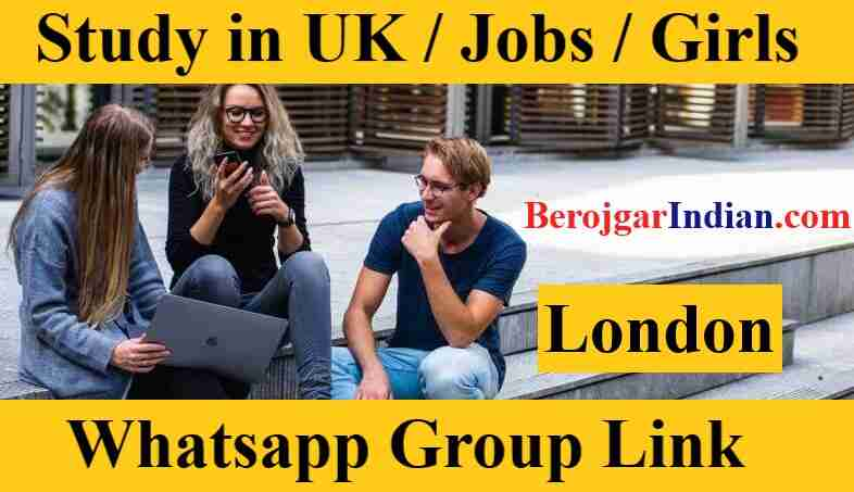 London Study in UK Girls 49s Job Whatsapp Group Link 18 Only Girl Number Join 2021