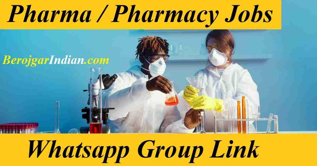Pharma Pharmacy Wisdom Pathway Job Alert Whatsapp Telegram Group Link 2021 Join