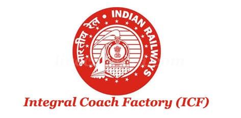Railway ICF Coach Factory Chennai Apprentice Recruitment