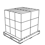 Pallet load profile 'A'