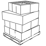 Pallet load profile 'C'