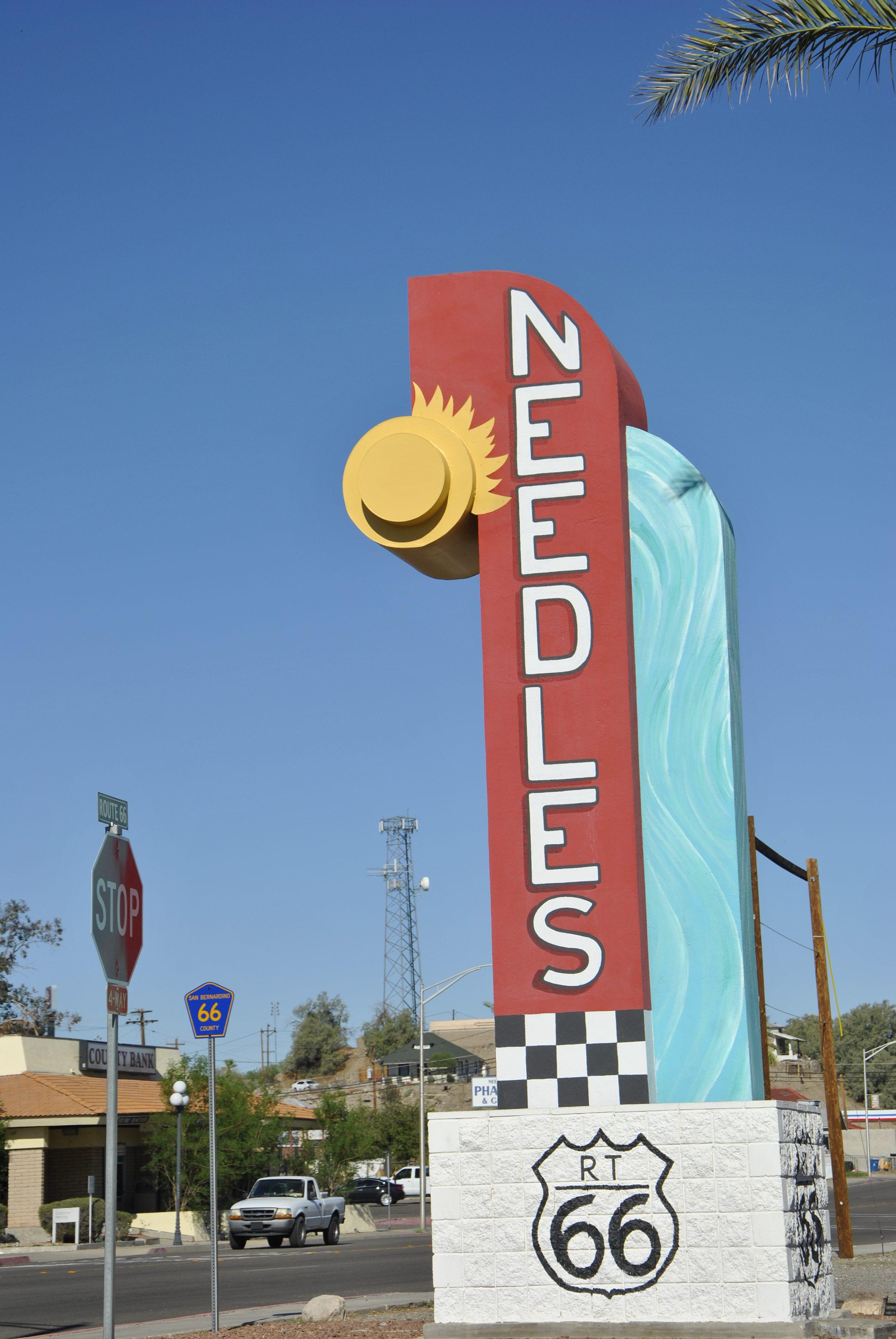 Route 66, Needles, Californie, USA