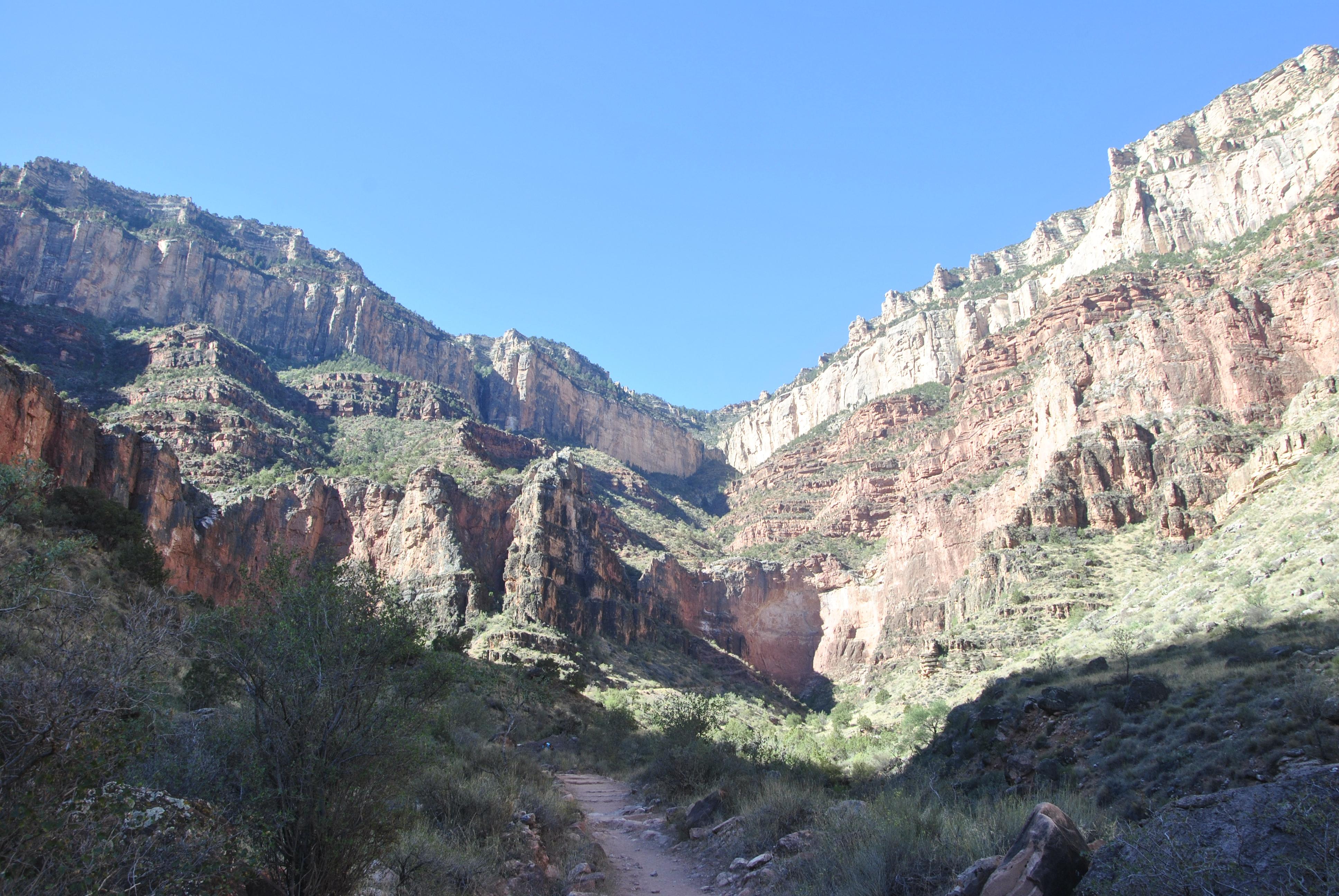 Bright Angel Trail, Grand Canyon NP, Arizona, USA