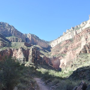 Bright Angel Trail, Grand Canyon NP, Arizona, USA