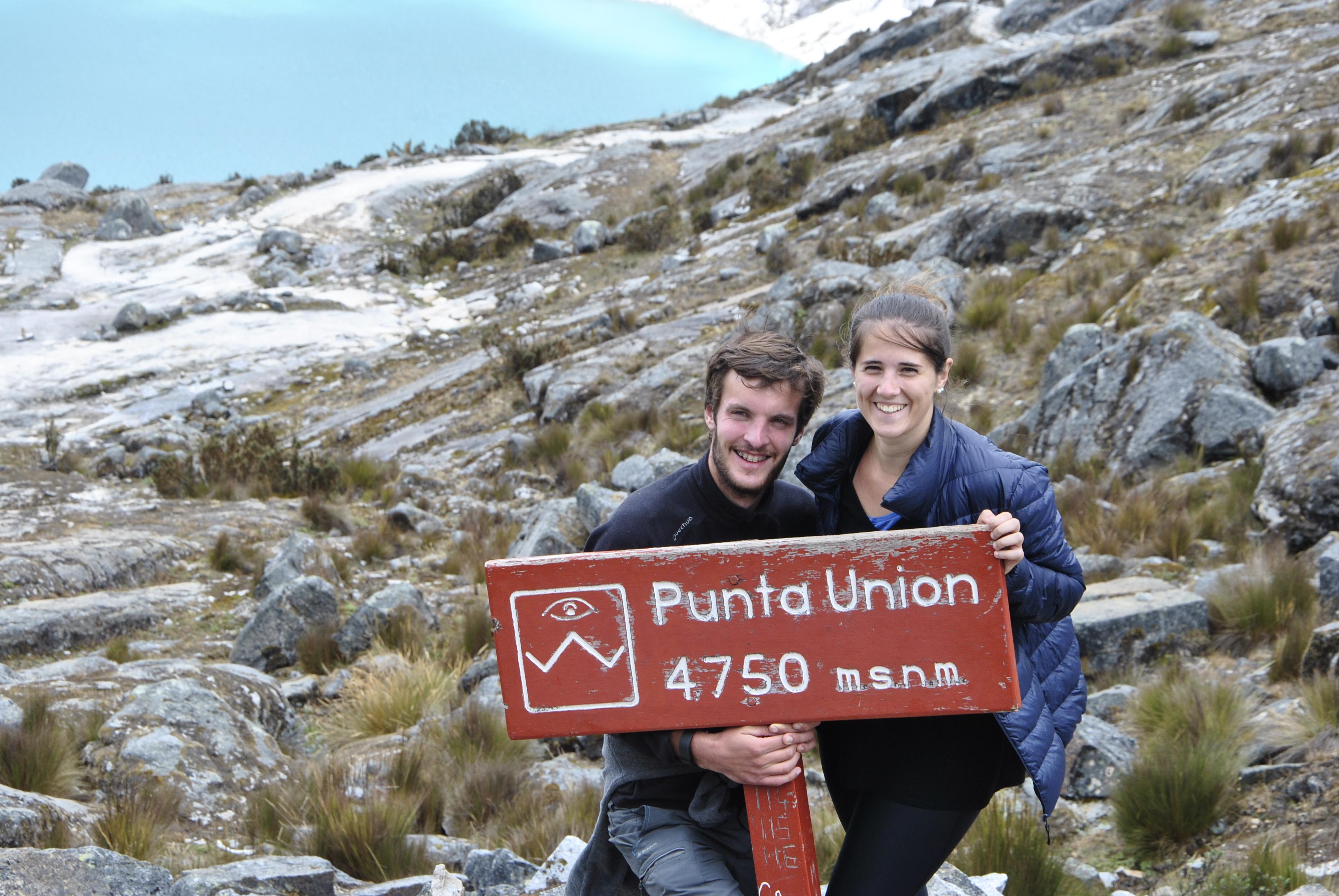 Punta, Union, Trek de Santa Cruz, Cordillère Blanche, Pérou