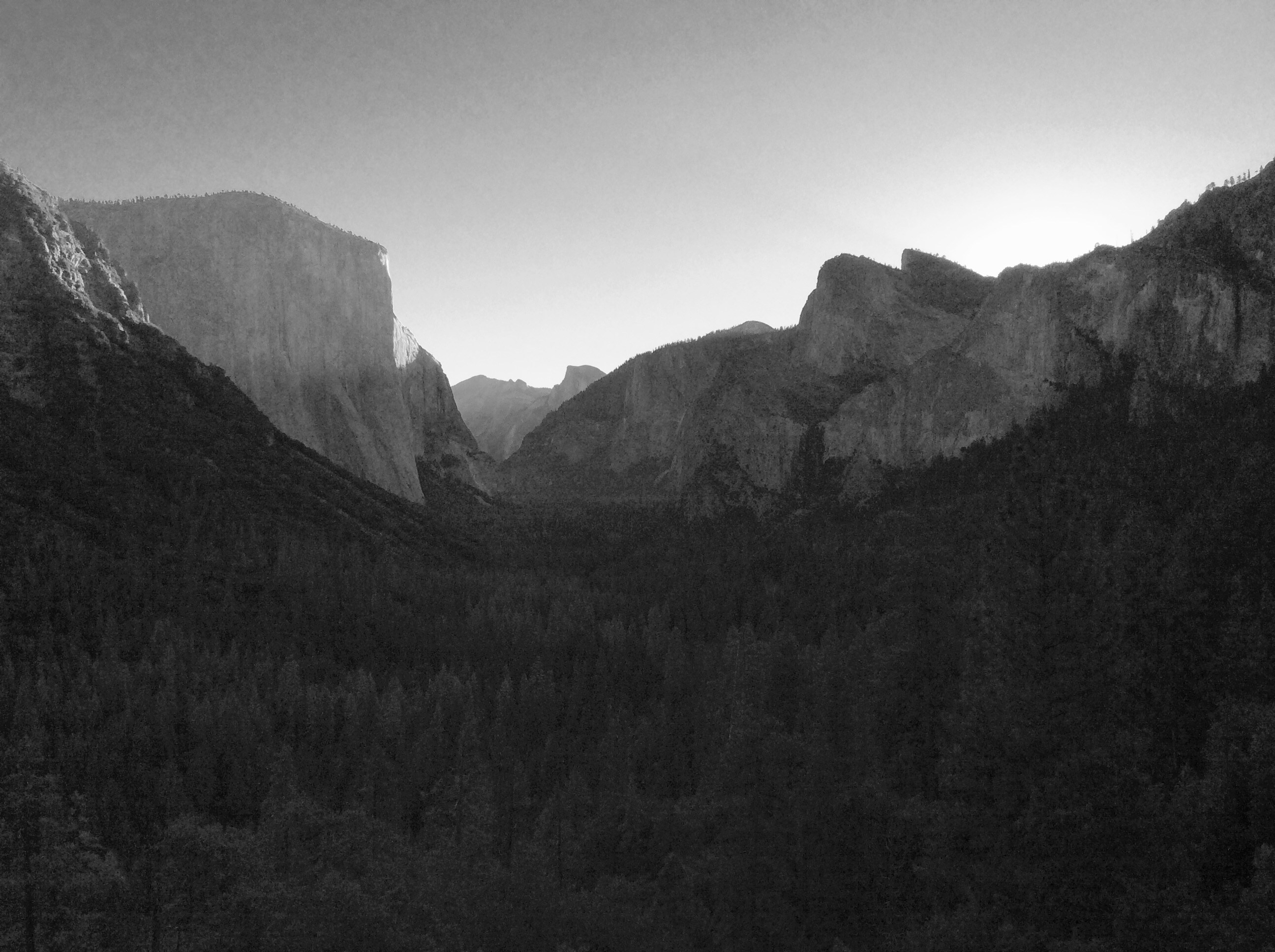 El Captain, Yosemite NP, Californie, USA