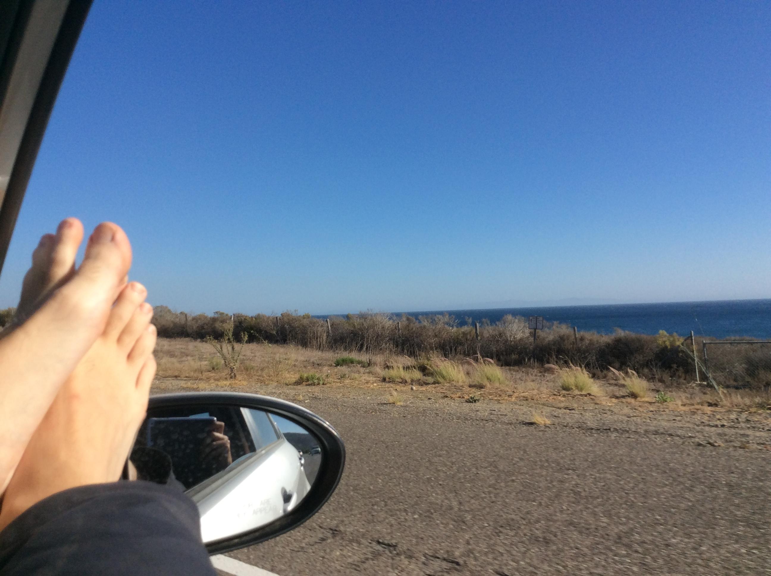 Malibu, Highway 1, Californie, USA