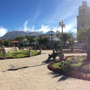 Plaza de Armas, Huaraz, Pérou