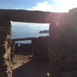 Chincana, Isla del Sol, Lac Titicaca, Bolivie