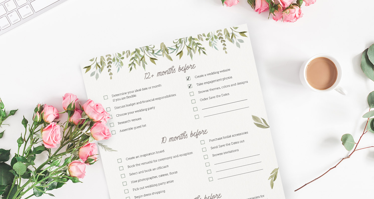 12 Free Wedding Planner Binder Printables