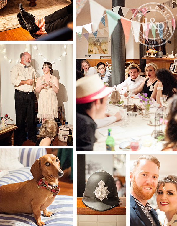 gatsby-party-collage