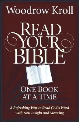 Read your bible, one book at a time, cover image