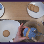 Art Time, Blue Iced Biscuits