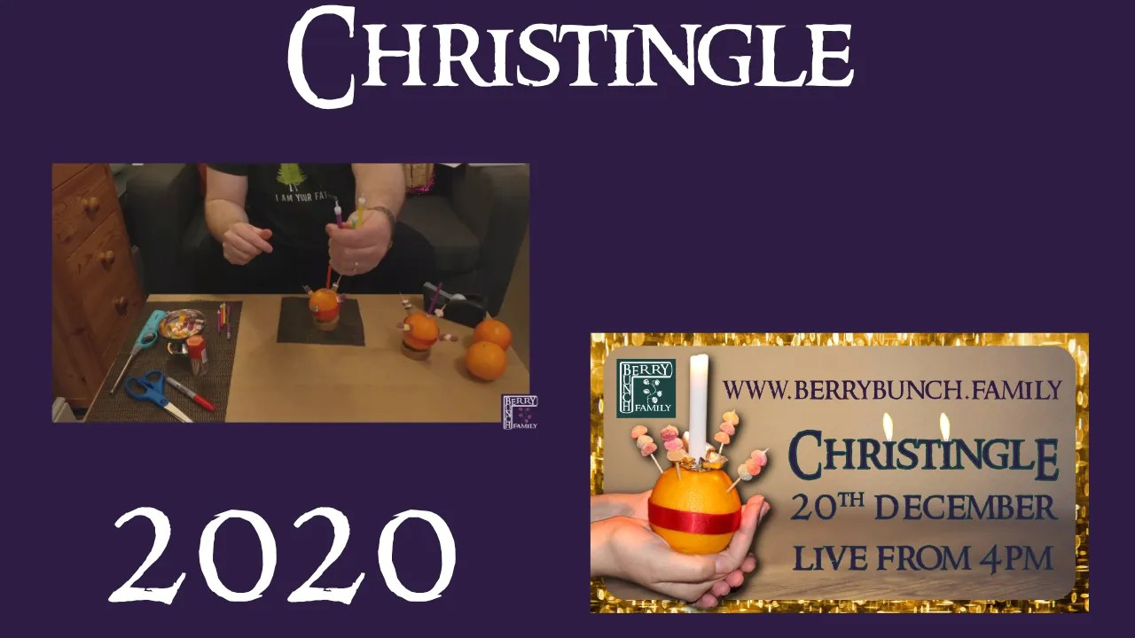 Christingle, 2020, with the BerryBunch