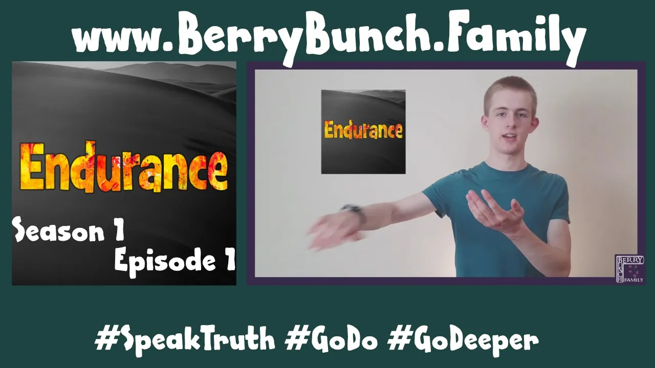 Endurance, Series 1, Episode 1, Wiping The Slate