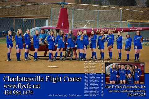 2008 MCHS Varsity Softball Poster