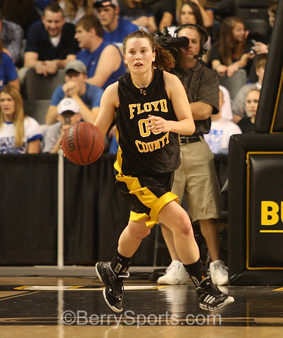 Floyd's Brittany Avacini finished with 31 points